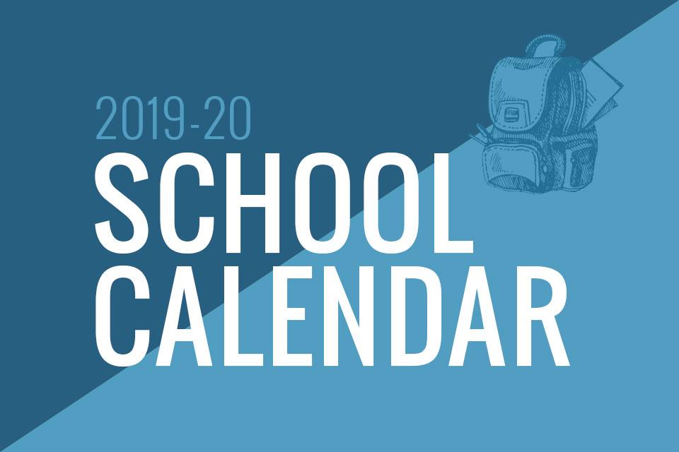 Gilbert Public Schools Calendar 2020 SCHOOL CALENDAR FOR 2019   2020   Bullhead City Middle School